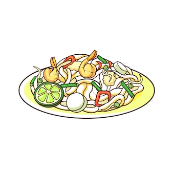 Pad thai to typowe jedzenie z tajlandii