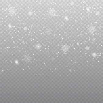 Padający śnieg nakładki tło