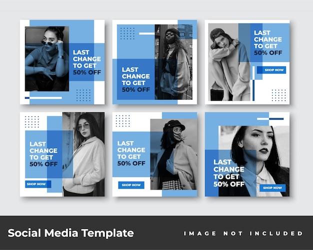 Pakiet bannerów na posty w mediach społecznościowych
