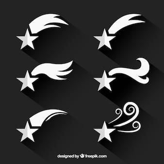 Pakiet białych gwiazd szlaków