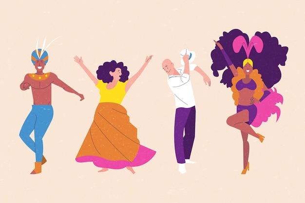 Pakiet brazylijskiej tancerki karnawałowej