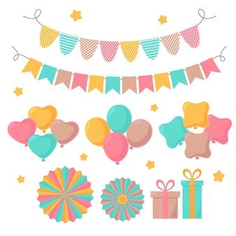 Pakiet dekoracji na urodziny