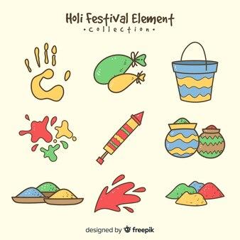 Pakiet elementów festiwalowych holi