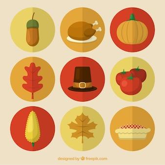 Pakiet elementów uroczystość dziękczynienia