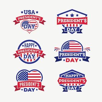 Pakiet etykiet na dzień prezydenta