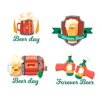 Pakiet etykiet na międzynarodowy dzień piwa