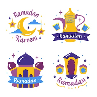 Pakiet etykiet ramadan