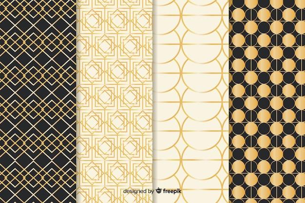 Pakiet geometryczny wzór luksusu