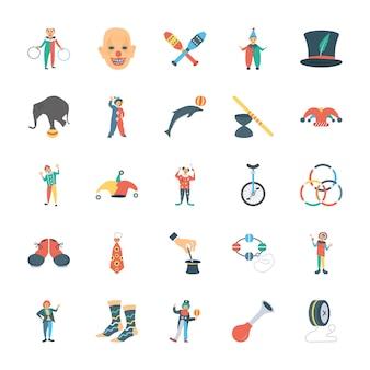 Pakiet ikon cyrkowych