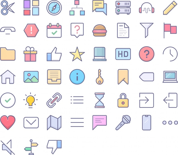Pakiet ikon interfejsu użytkownika