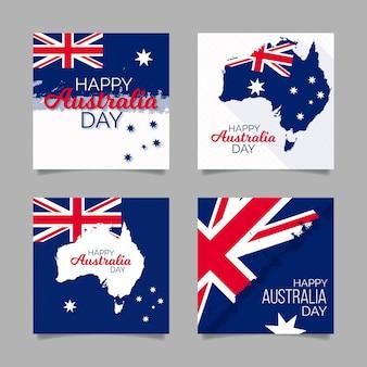 Pakiet kart okolicznościowych z okazji dnia australii