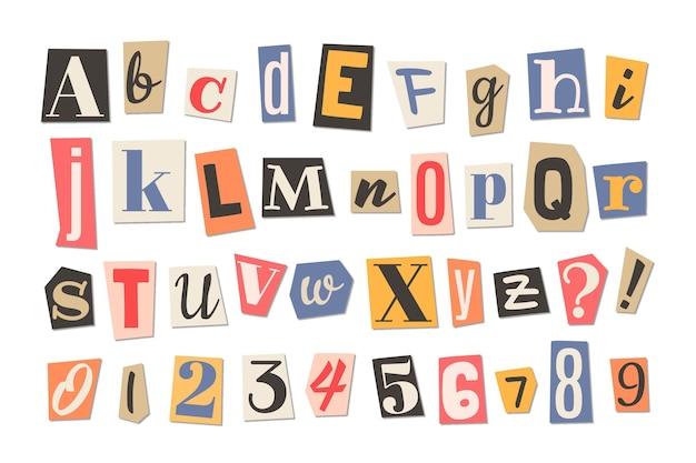 Pakiet listów z notatką o okupie w stylu papieru