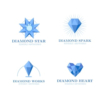 Pakiet logo diamond
