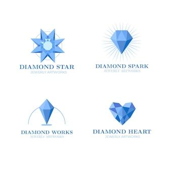 Pakiet logo diamond