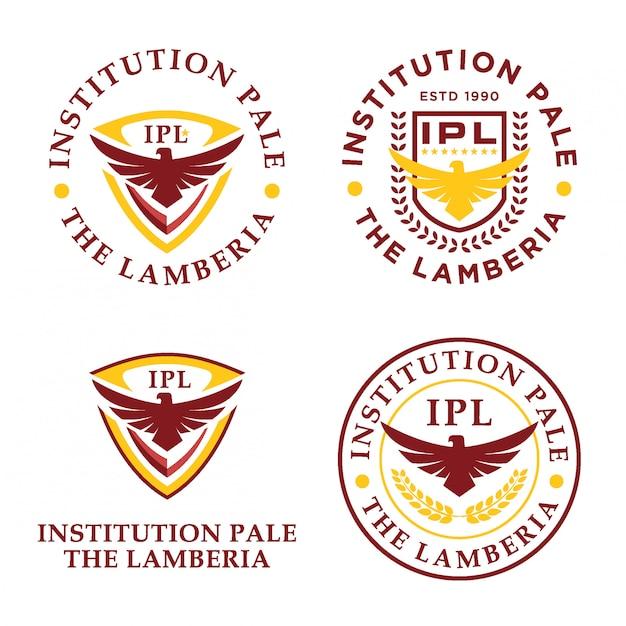 Pakiet logo eagle institution