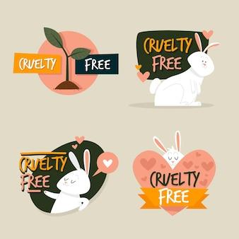 Pakiet odznak cruelty free