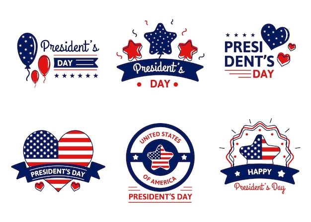 Pakiet odznak z okazji dnia prezydenta