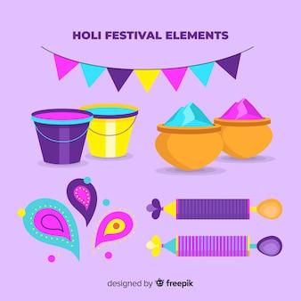 Pakiet płaski element festiwalu holi