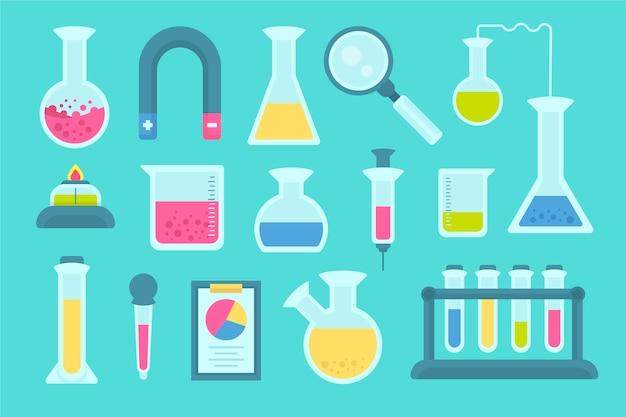 Pakiet przedmiotów do laboratorium naukowego