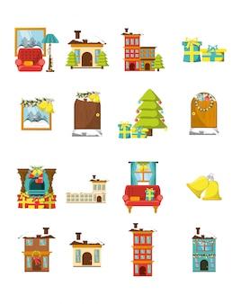 Pakiet świąt z zestawem ikon