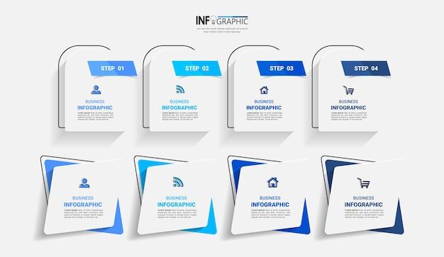 Pakiet szablonu elementu infografiki