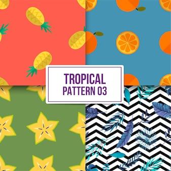 Pakiet tropikalny wzór