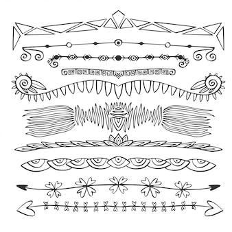 Pakiet unikalnych ramek i dzielników stron