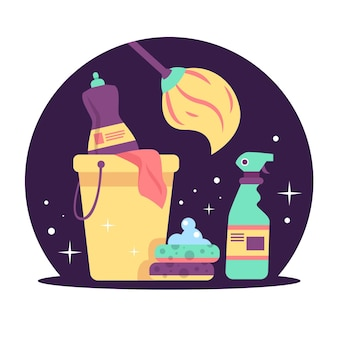 Pakiet wyposażenia do czyszczenia powierzchni