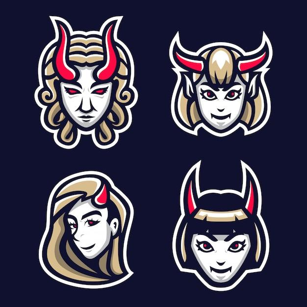 Pakiet z logo devil girl