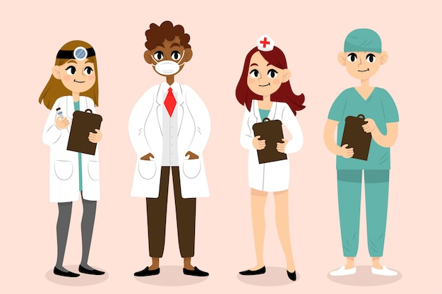 Pakiet zespołu pracowników służby zdrowia