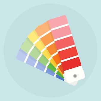 Paleta kolorów, próbki, próbki