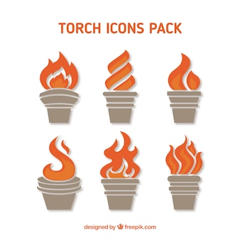Palniki ikony pack