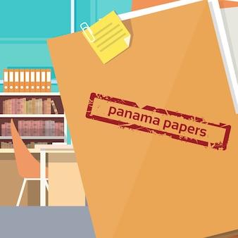Panama papers folder tajny dokument