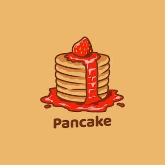Pancake food słodka pyszna piekarnia