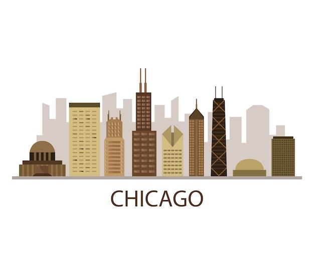 Panoramę chicago