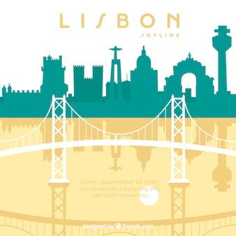 Panoramę lizbony