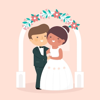 Państwo młodzi biorą ślub