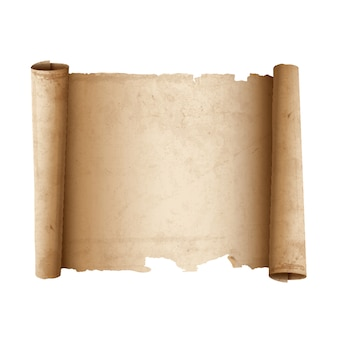 Papier ancient scroll