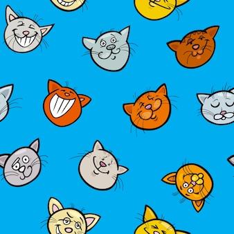 Papier do pakowania z kreskówek z kotami