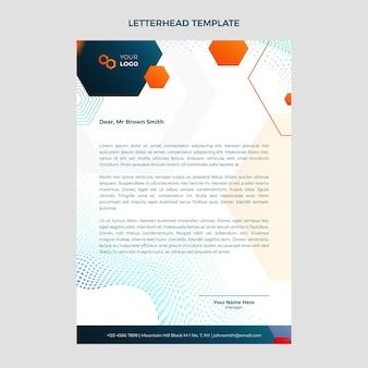 Papier firmowy z technologią półtonów gradientowych