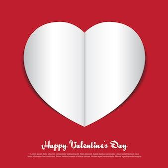 Papier red heart