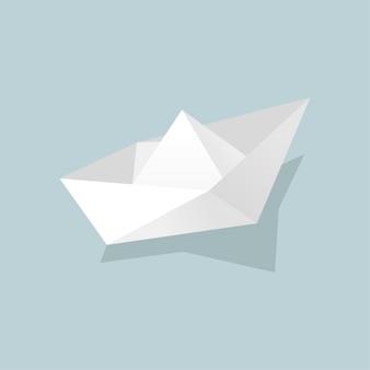 Papierowa łódka