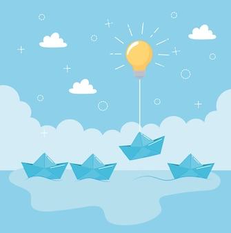 Papierowa łódź myśli inaczej