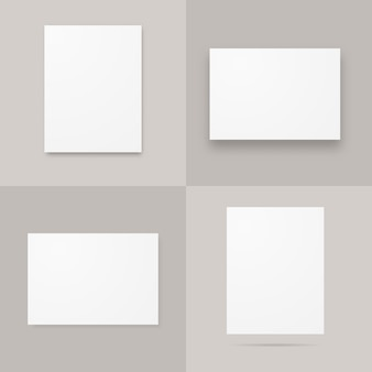 Papierowe plakaty a4