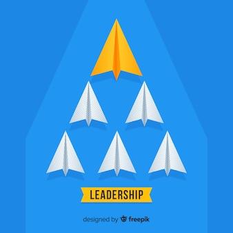 Papierowe samoloty przywódcze