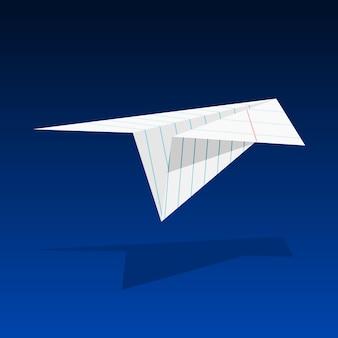 Papierowy samolot