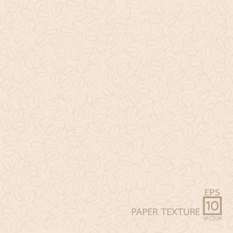 Papierowy tekstury tło, kawa styl