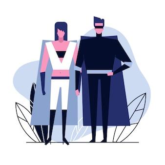 Para miłośników cosplay