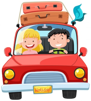 Para podróż na wakacje