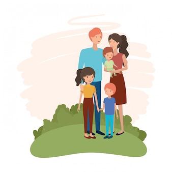 Para rodziców z charakterem awatara dzieci
